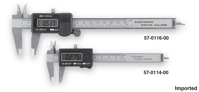Group 1 Electronic Digital Calipers With RS232 Output