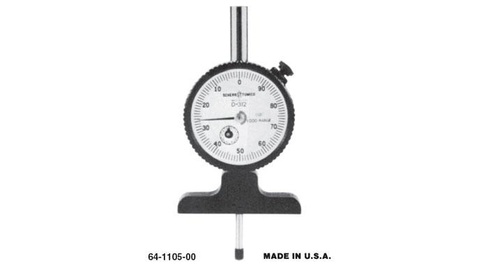 Group 1 Dial Depth Gage