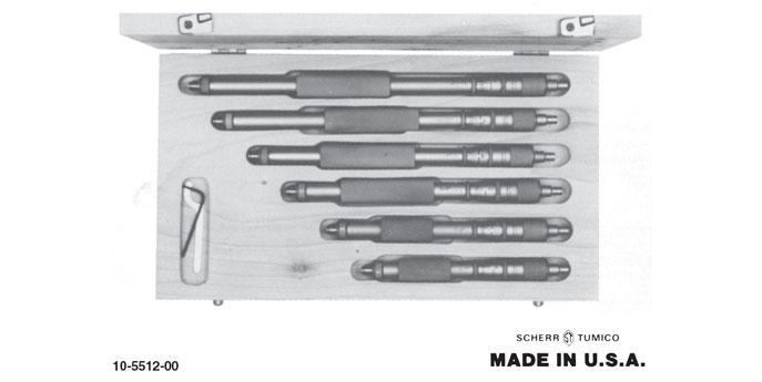 Group 1 Inside Micrometer Sets