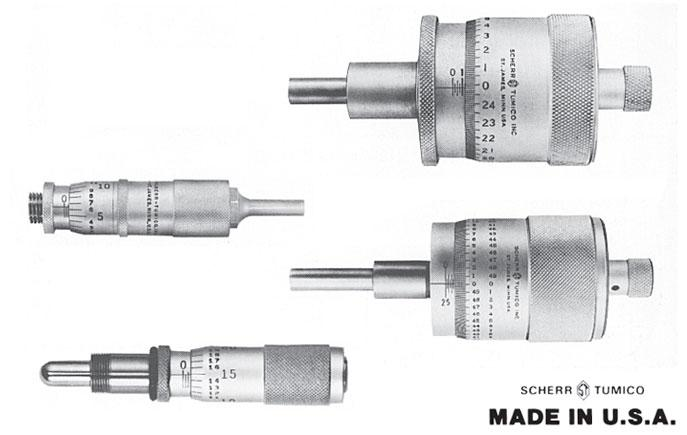Special and OEM Micrometer Heads