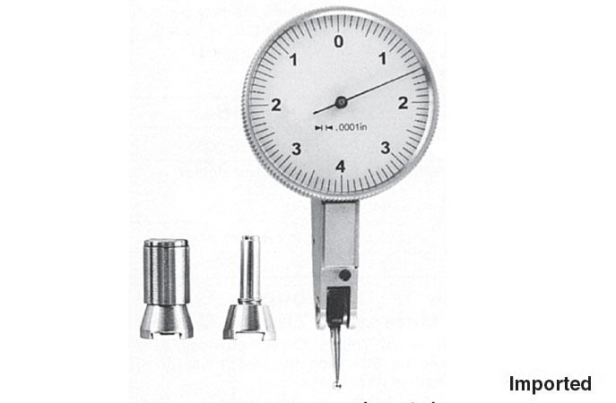 "Group 1 Dial Test Indicator: .500"" Long Stylus with Ball Tip"
