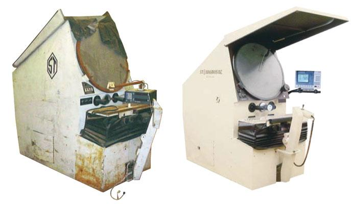 """2600R/2800R"" 30"" Remanufactured Horizontal Beam Optical Comparator"