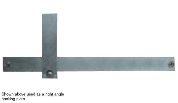 Combination Right Angle Backing Plate/Datum Bar